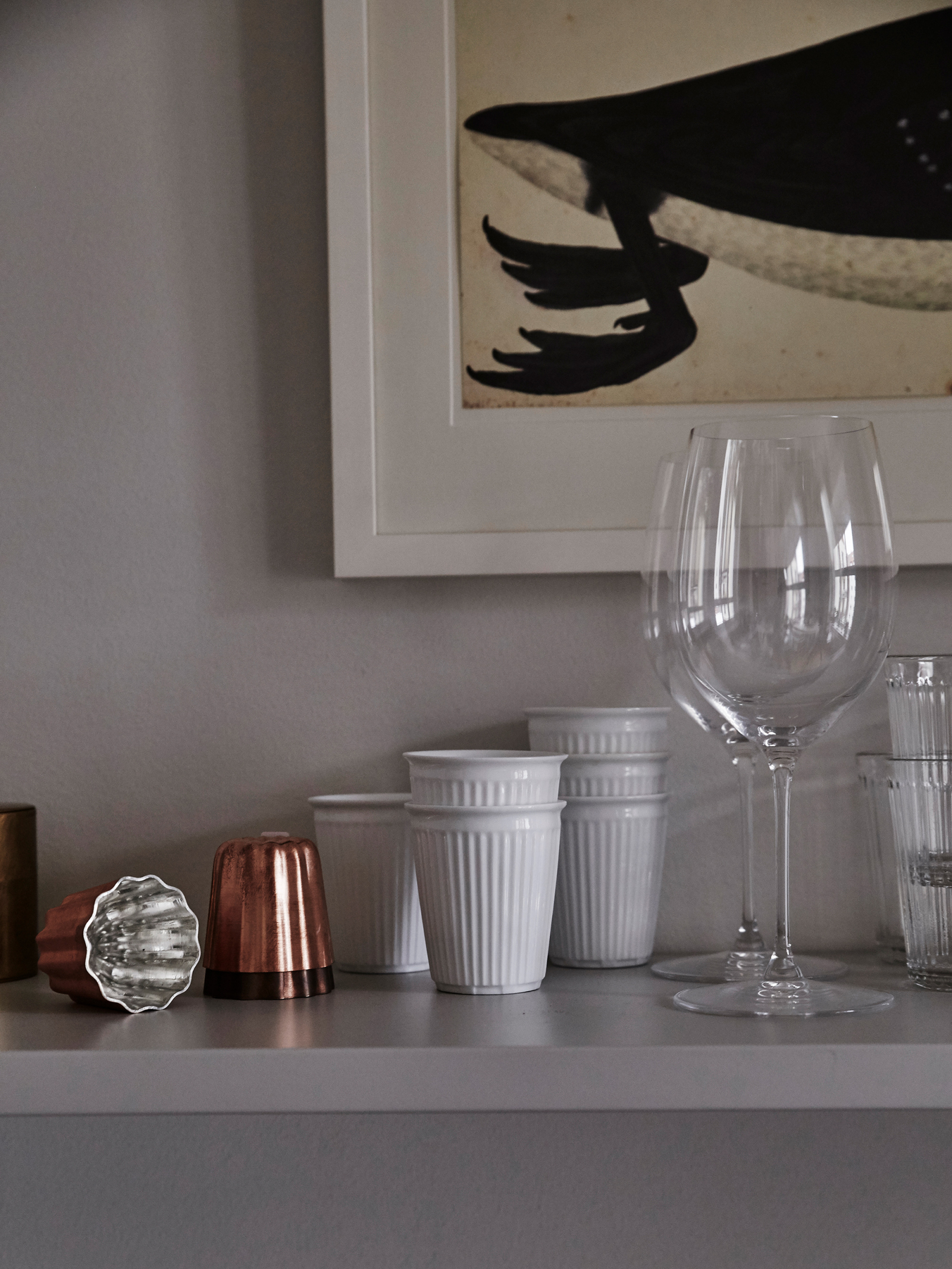 Breaker espresso & coffee cup, Cenelé mold