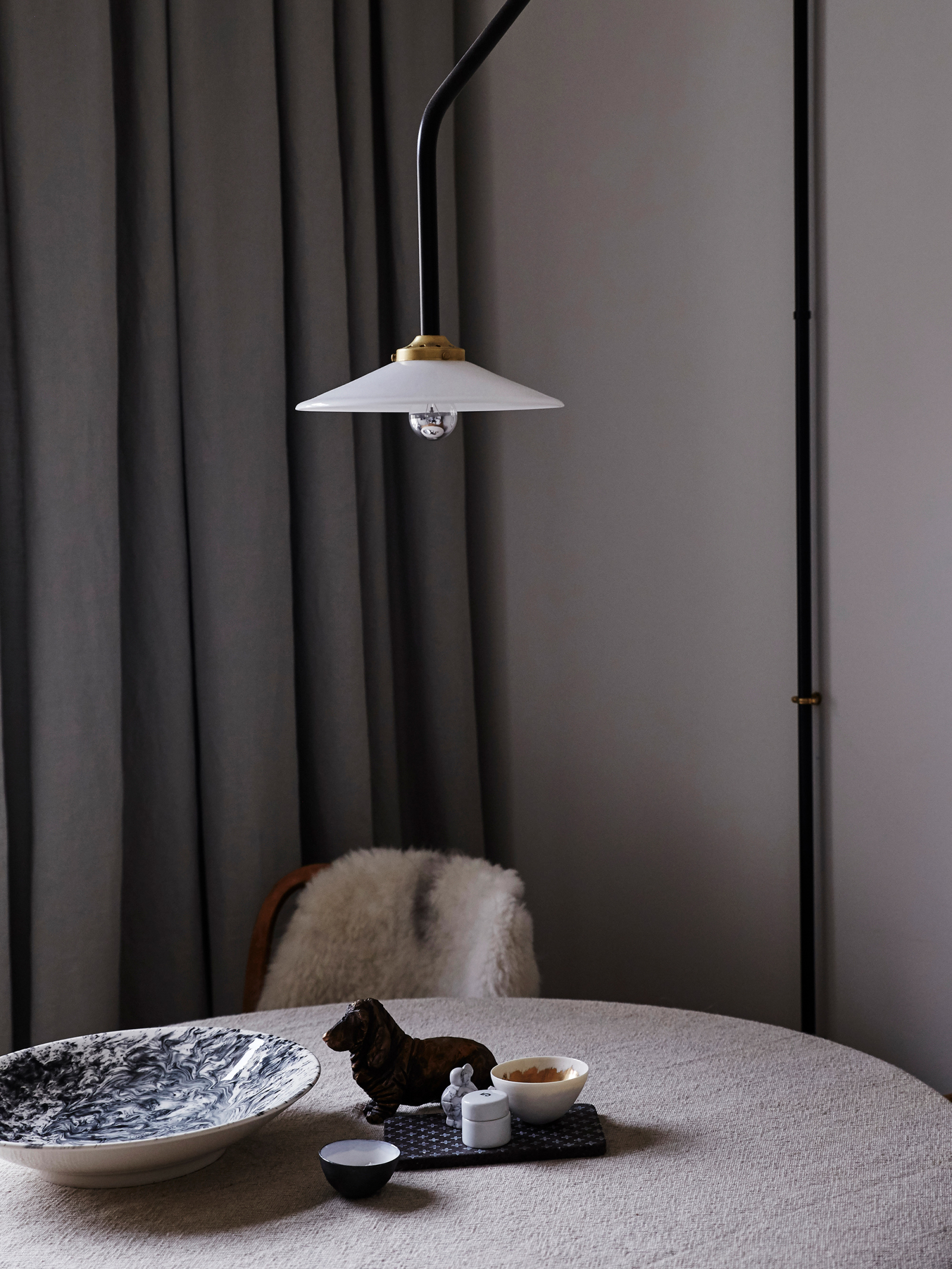 Hanging lamp n4, Slick bowls