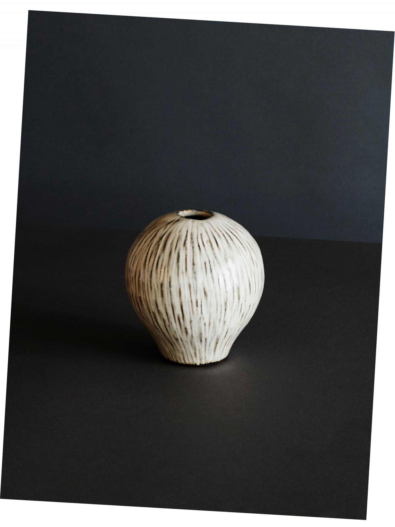 Coconut Heart Vase