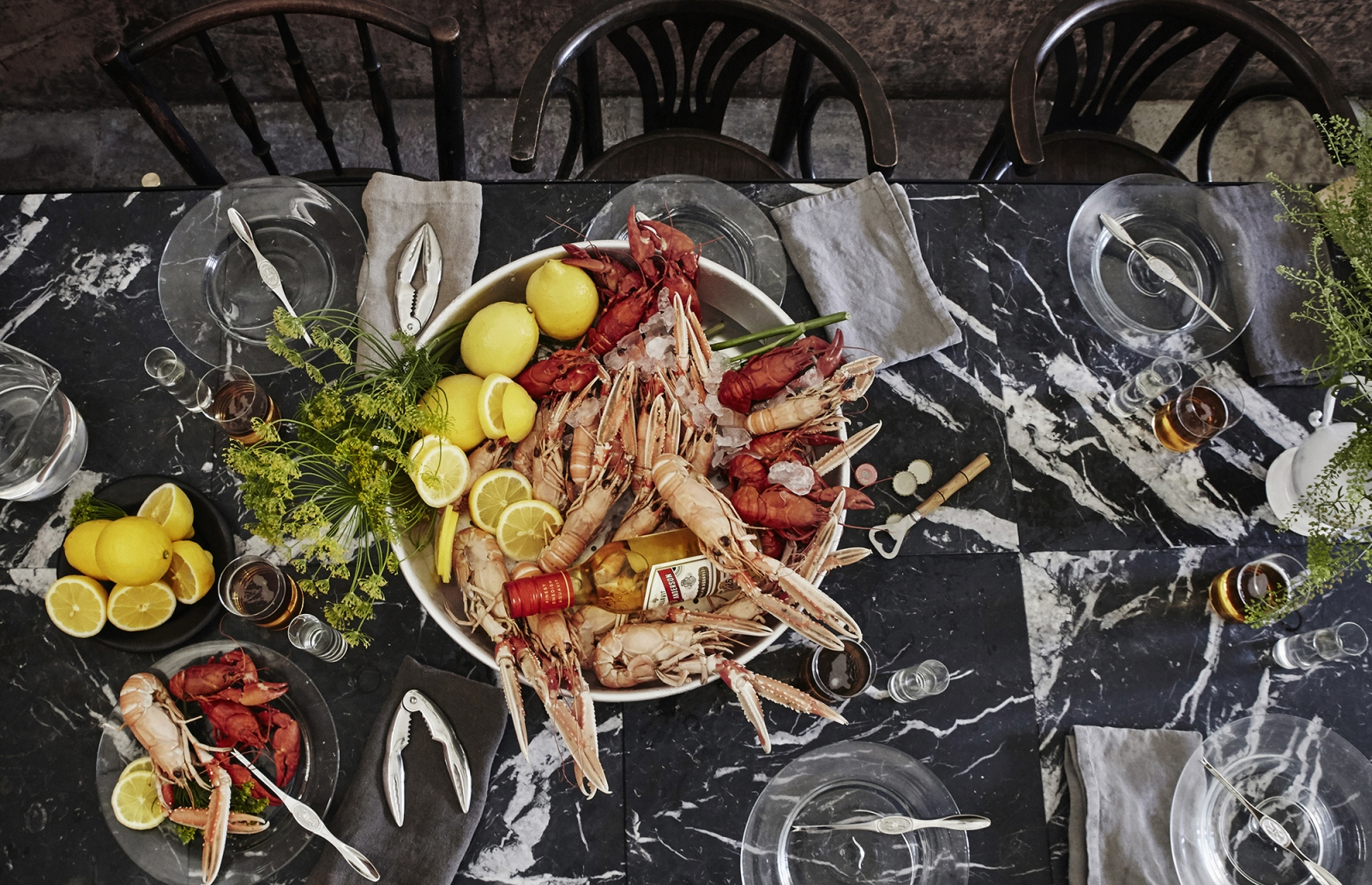 If summer in Sweden starts with Midsummer, it ends with the Crayfish Festivals.  All over Sweden colourfully decorated tables serves crayfish fresh from the salty West coast. Let the feast begin!