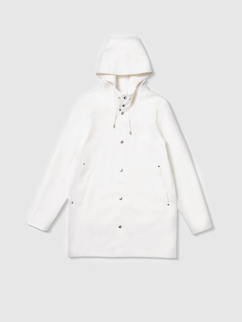 Stockholm Raincoat White