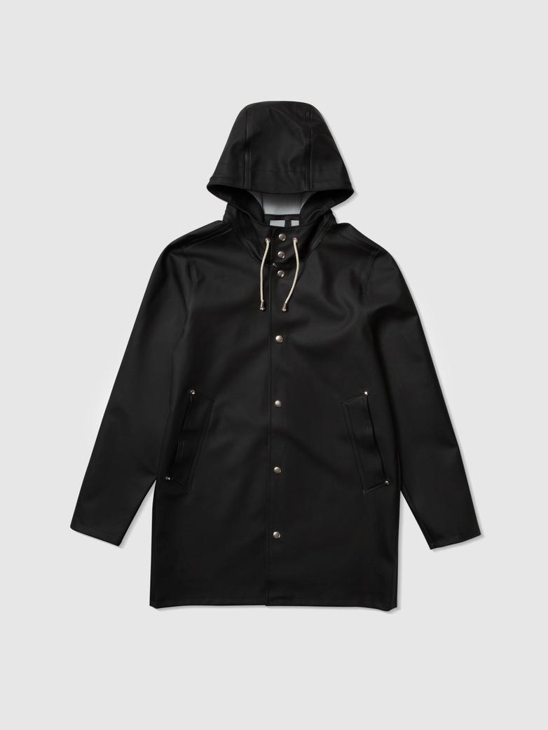Stockholm Raincoat Black
