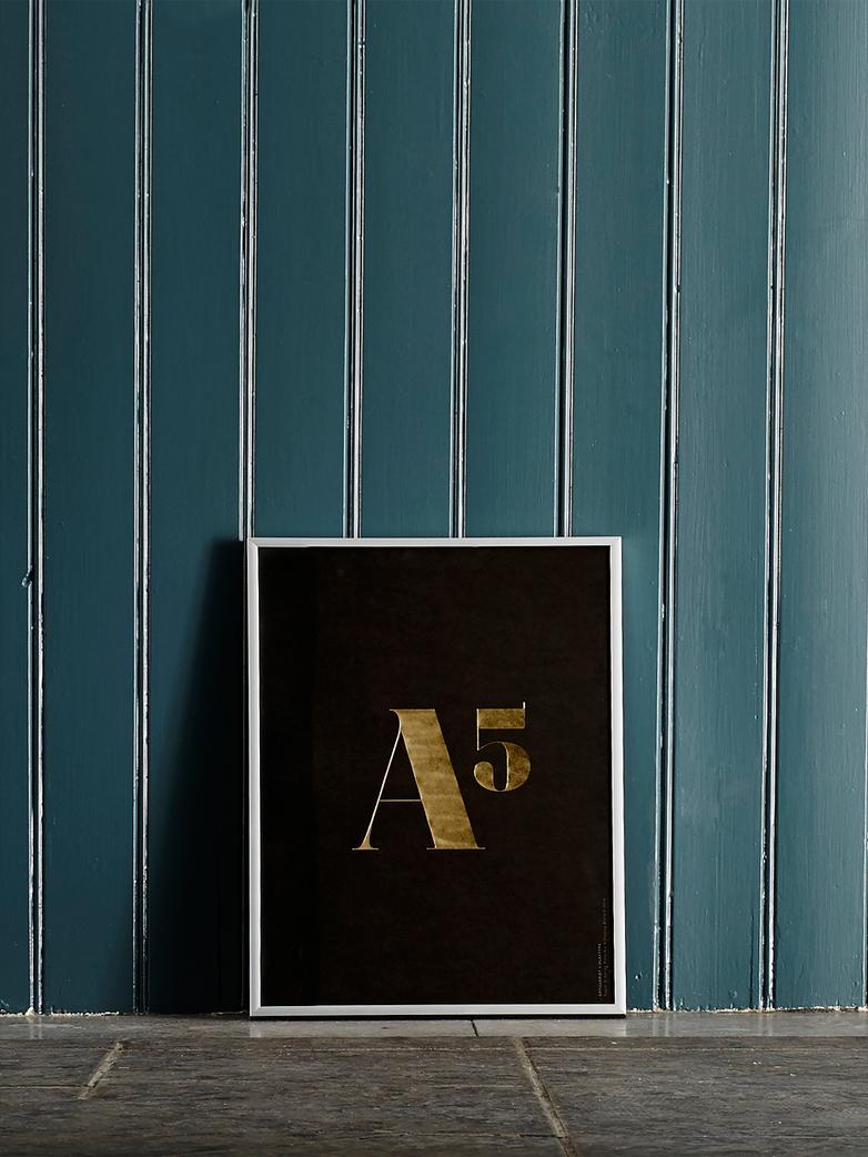 Artilleriet Edition: A5 Gold Poster