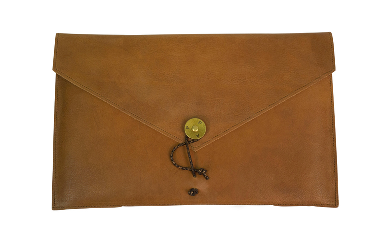 Laptop Cover 13 Leather Tan