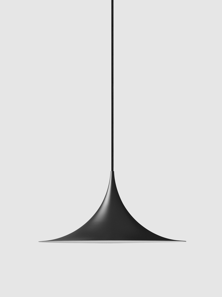 Semi Pendant All Black