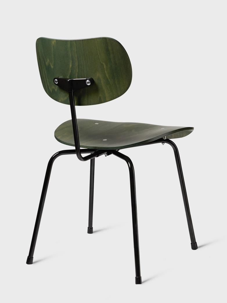 Eiermann Dining chair SE68 Black