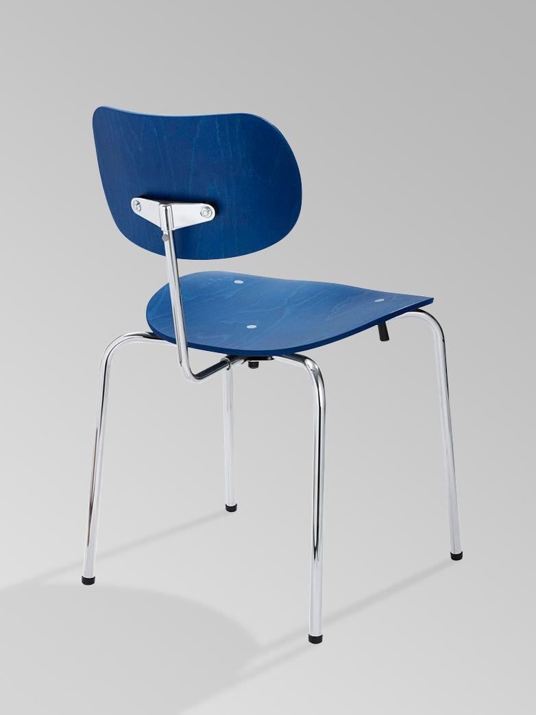 Eiermann Dining chair SE68 Chrome