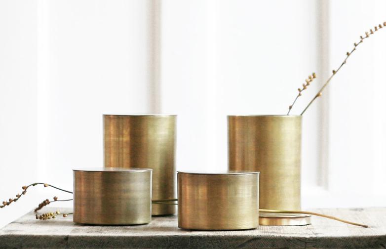 Brass Jars