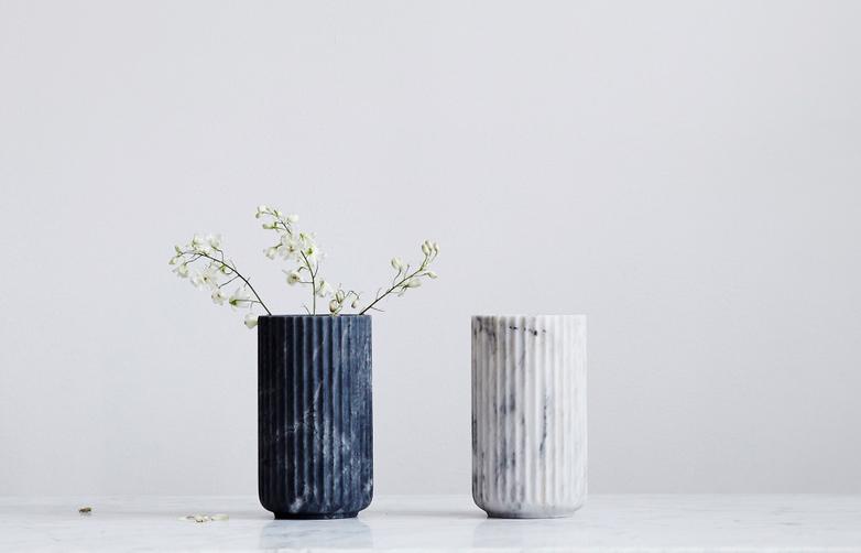 Lyngby Marble Vase