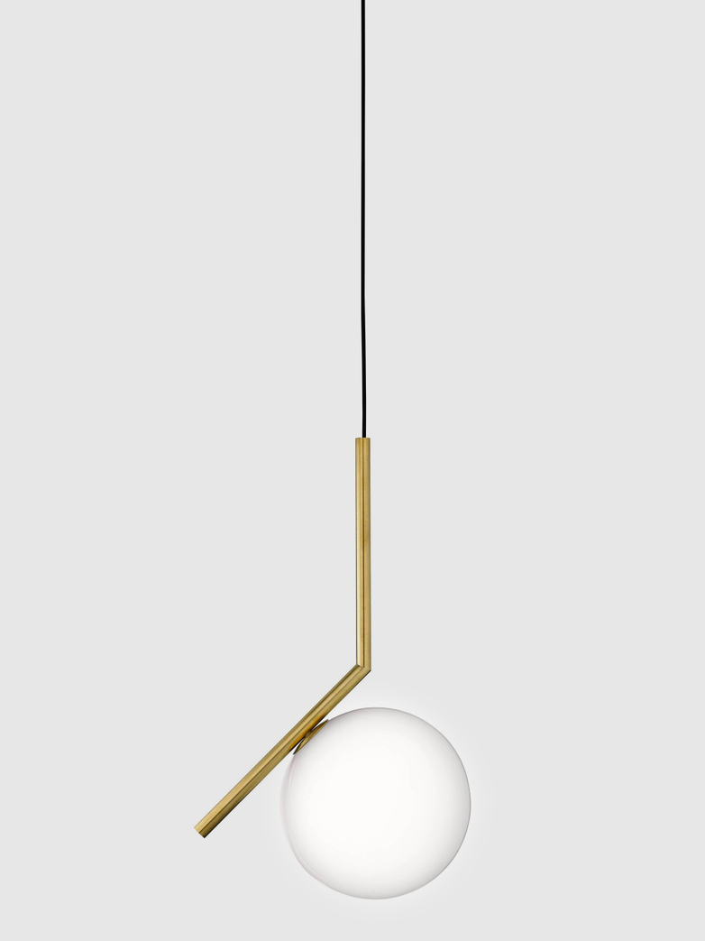 IC Lights Brass Pendant
