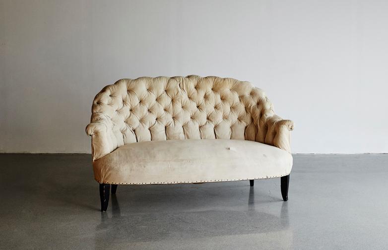 Vintage Napoleon Sofa