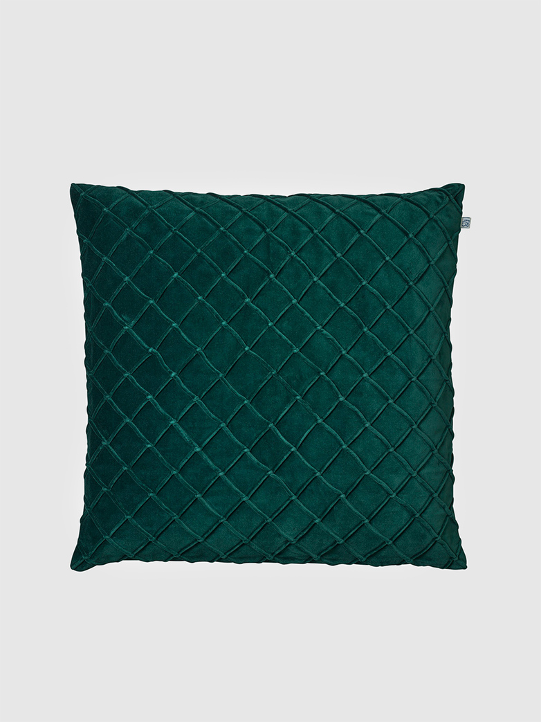 Cushion Cover Velvet - Deva Green - 60x60 cm