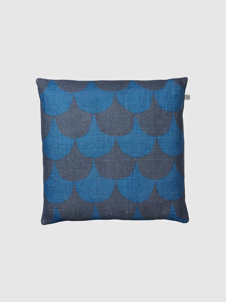 Cushion Cover Linen - Van Blue Palace Blue - 50x50 cm