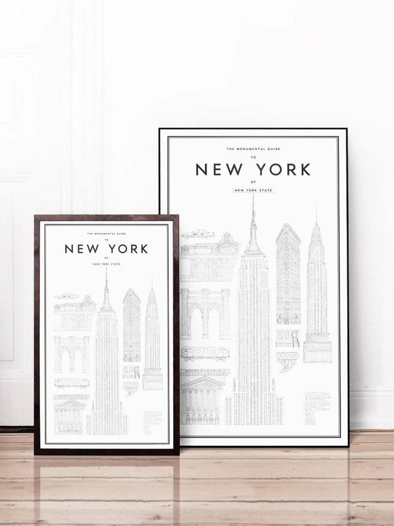 Monumental guide to New York