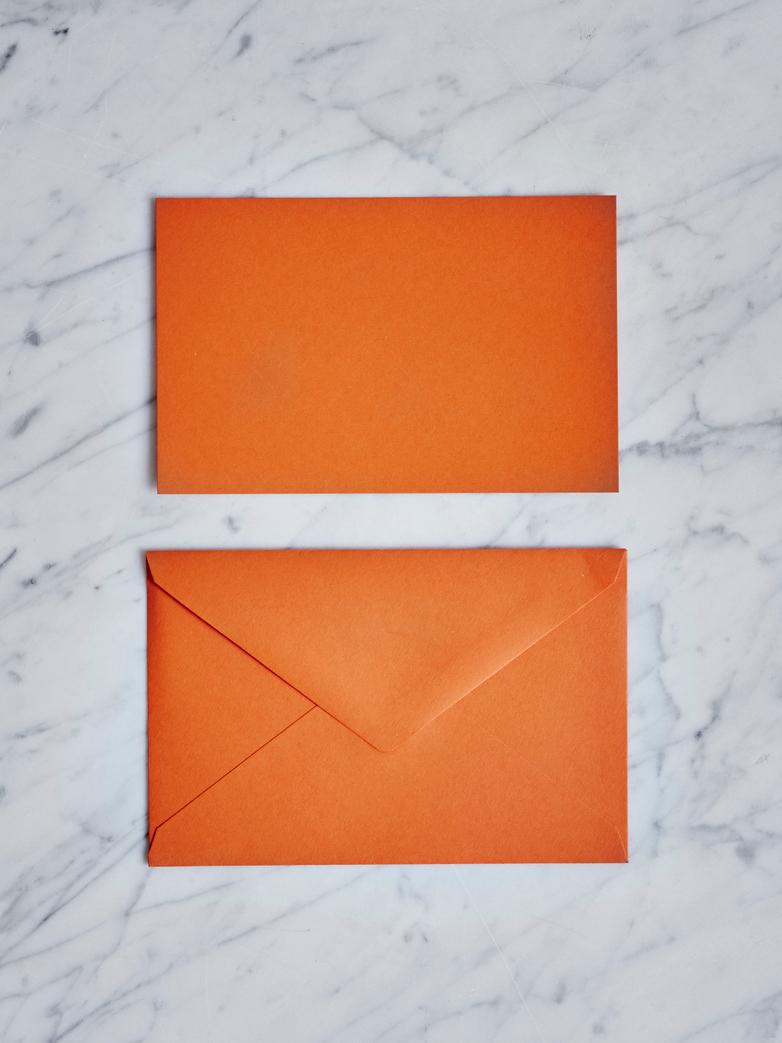 25 pcs Letter Box Orange