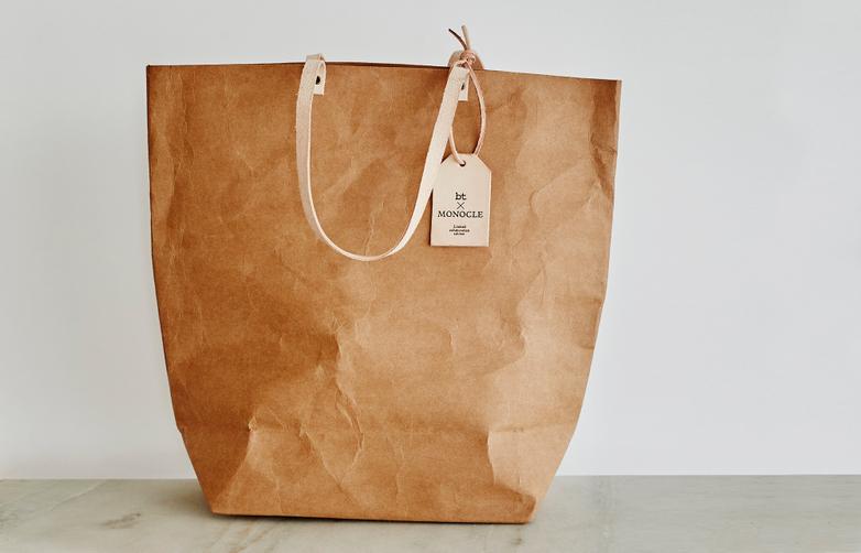 Monocle Paper Market Shopper Tan