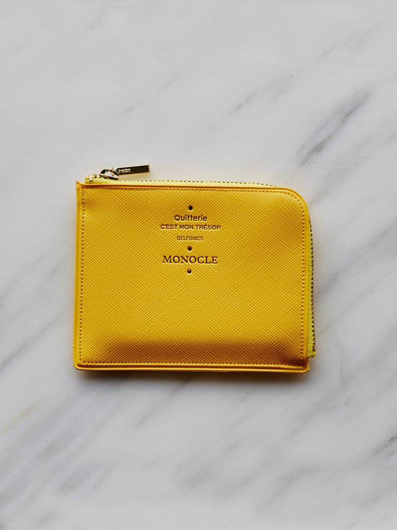 Delfonics Half Zip Case Yellow
