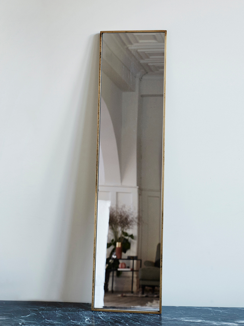 Dristi Rectangular Mirror Patine