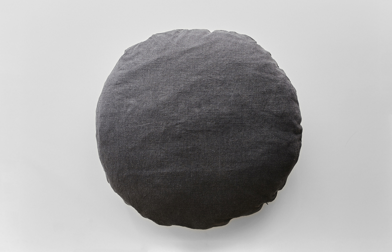 Washed Linen Charcoal