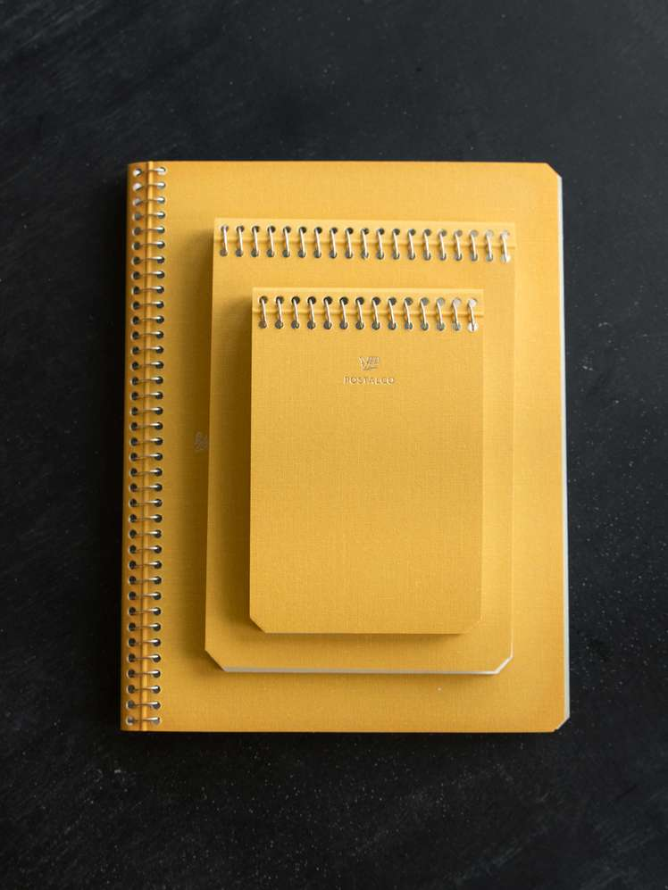 Notebook School Bus Yellow