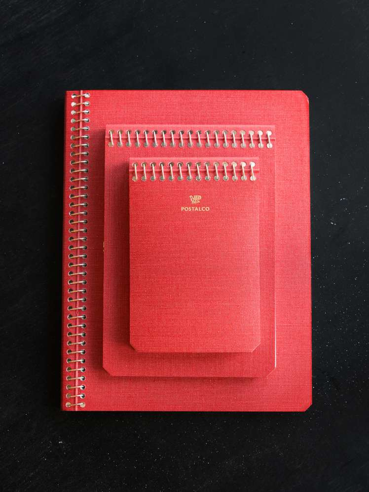 Notebook Signal Red