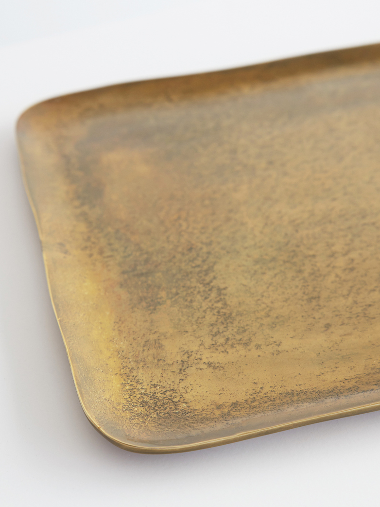 Rectangular Brass Platter