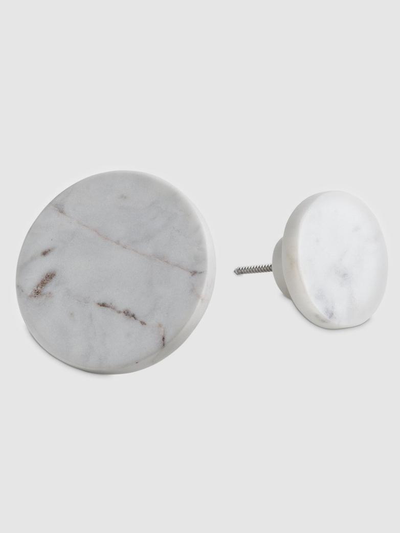 White Marble Coat Hooks