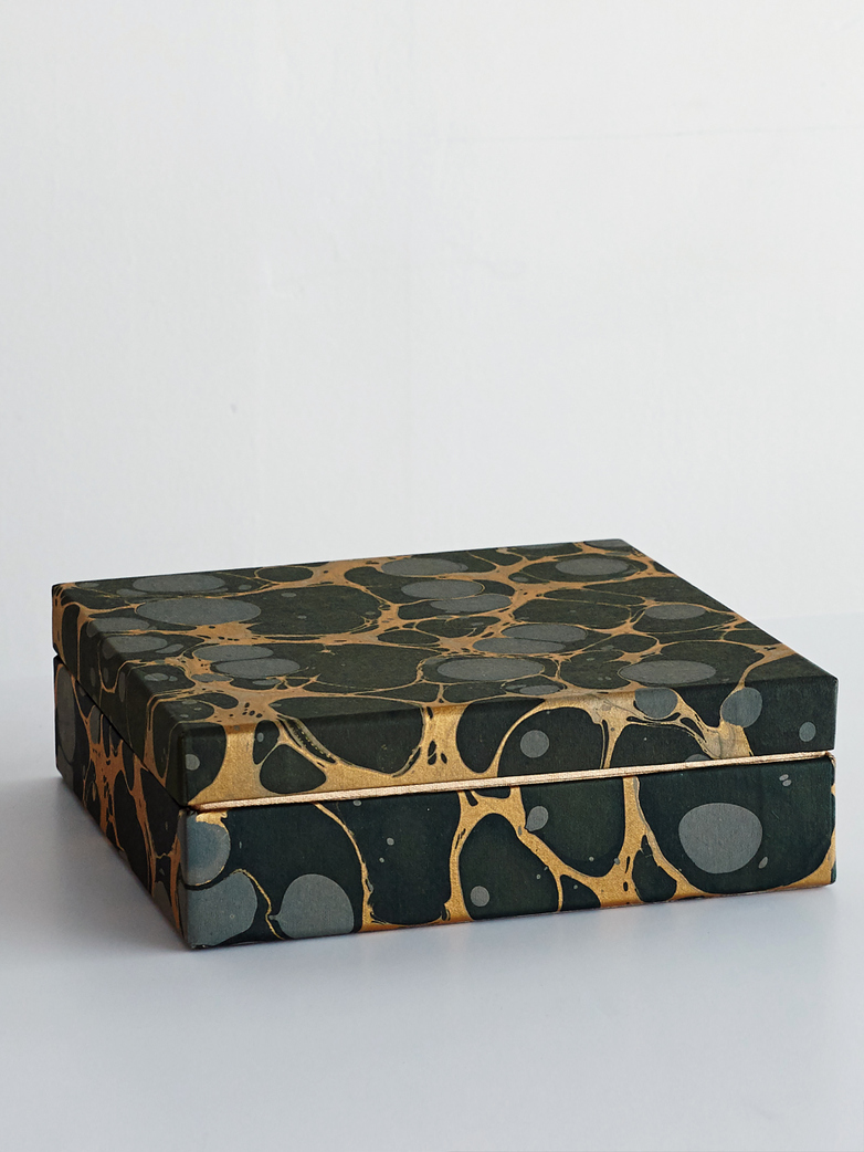 Nubila Paper Box Forrest Green/Gold