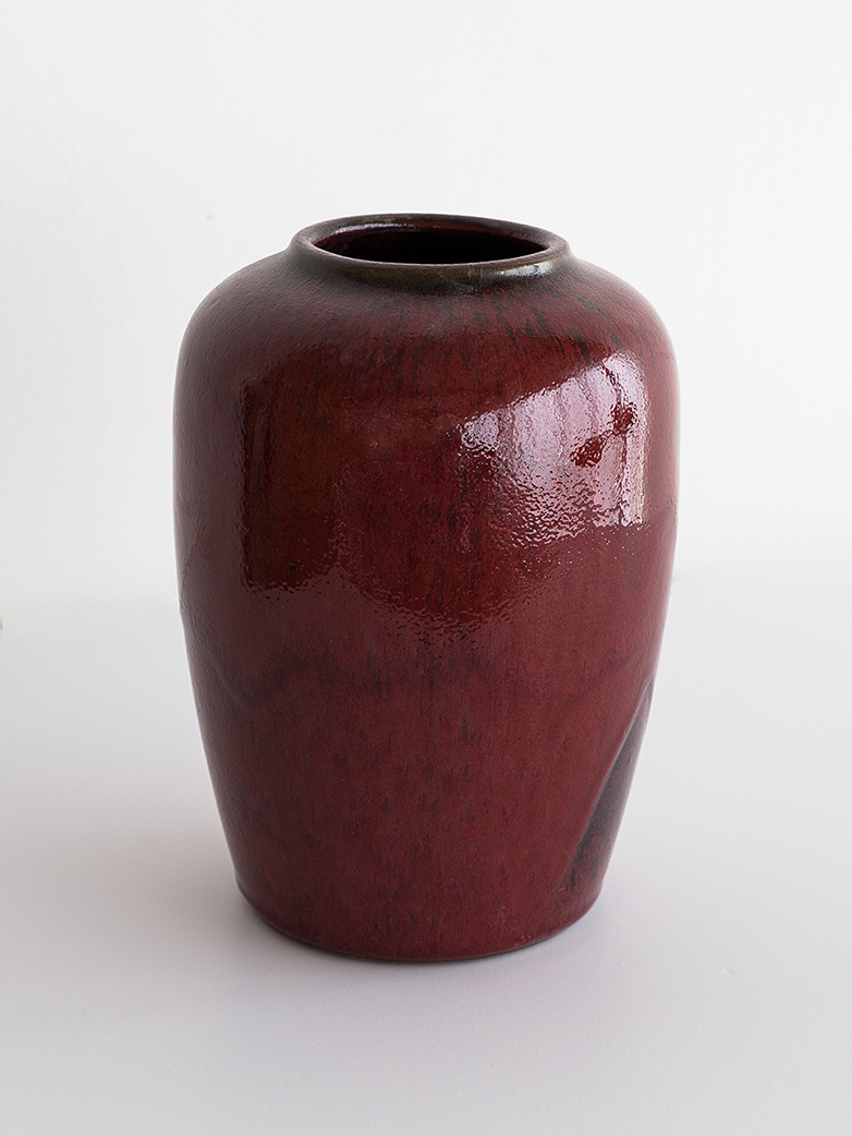 Cph Curve Vase Iron Red