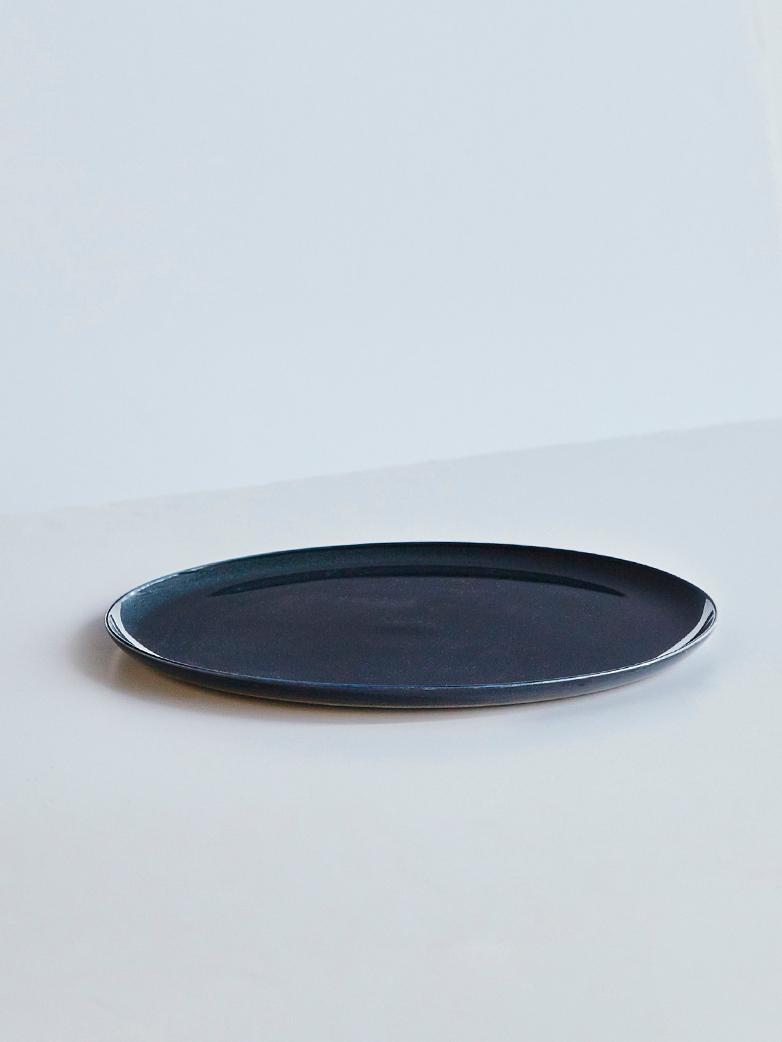 Dark Blue Dinner Plate