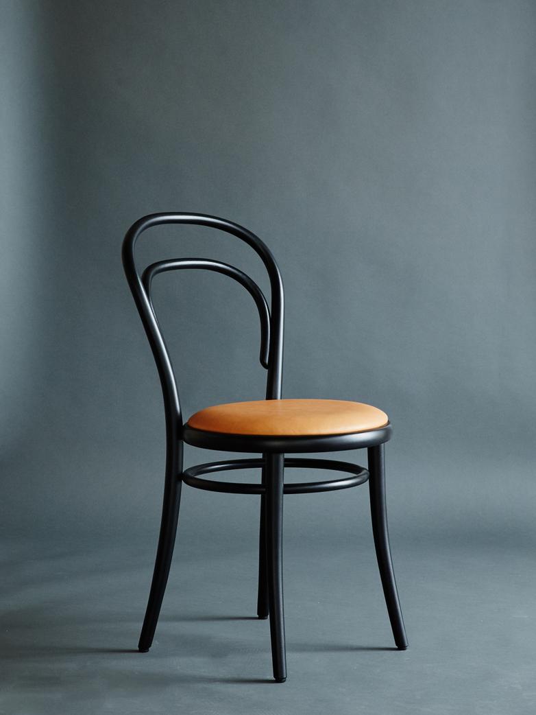 Artilleriet Edition Chair 14 Black Tärnsjö Leather