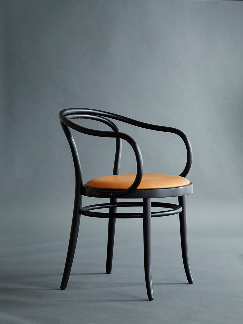 Artilleriet Edition Chair 30 Black Tärnsjö Leather
