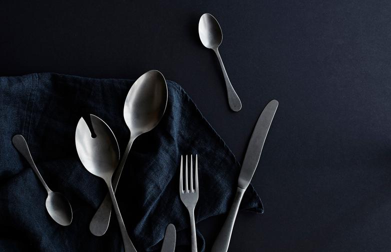 Herdmar Roccoa Nickel Cutlery