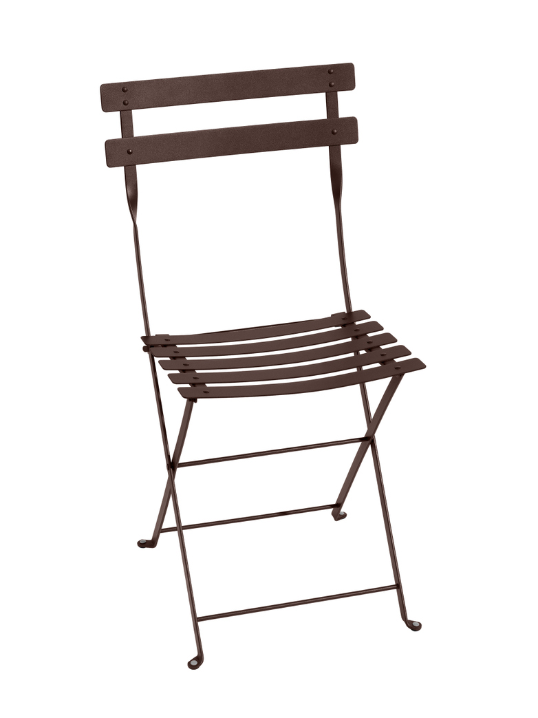 Bistro Folding Chair 09 Russet - 2 pack
