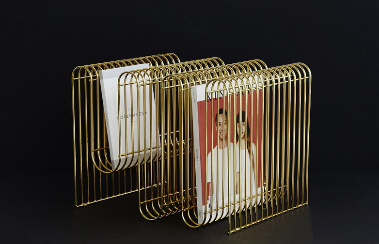 Curva Magazine Holder