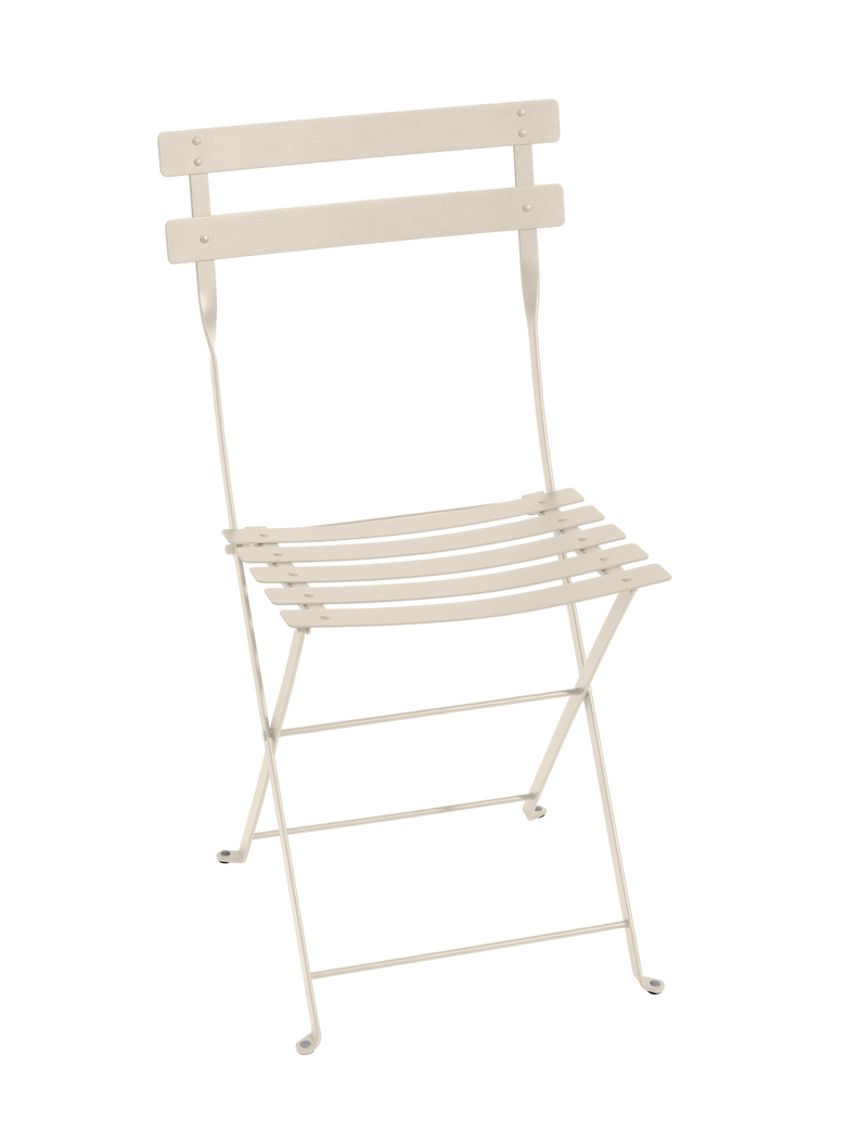 Bistro Folding Chair 19 Linen - 2 pack