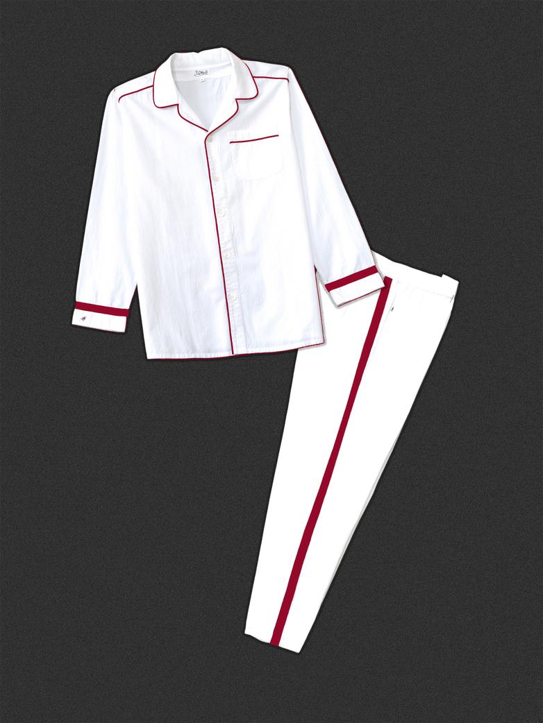 Pyjama White/Red