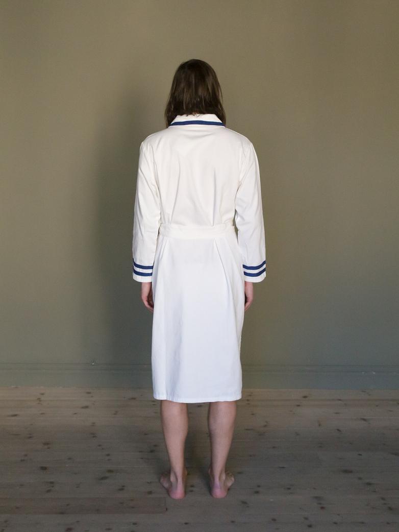 Deck Gown White/Blue