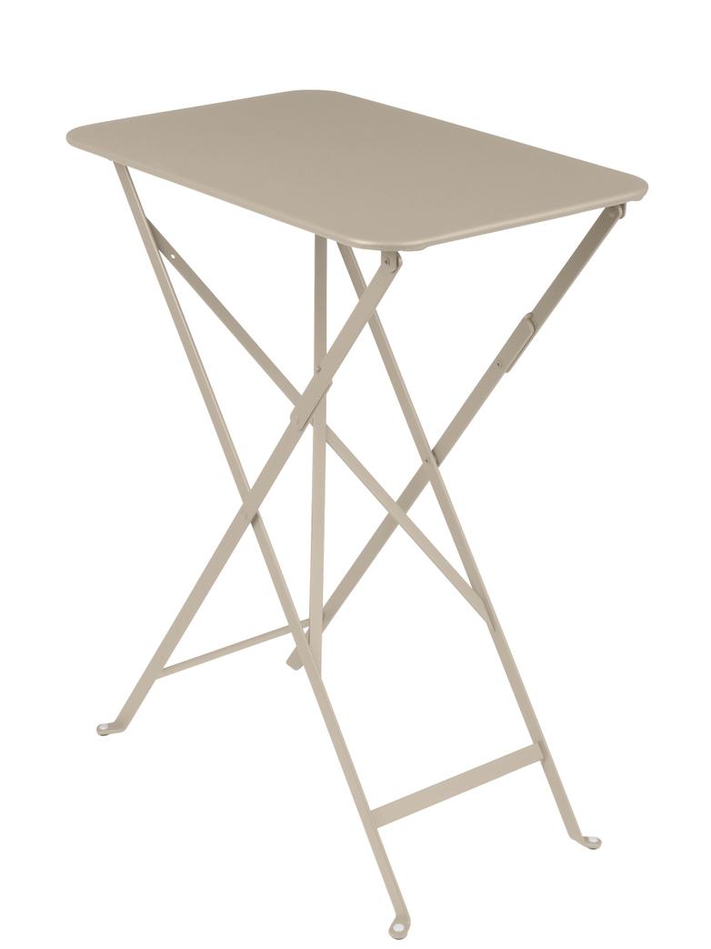 Bistro Folding Table Rectagular 37x57 14 Nutmeg