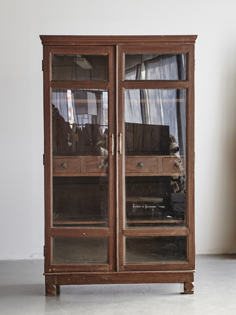 Vintage Cabinet With Drawers