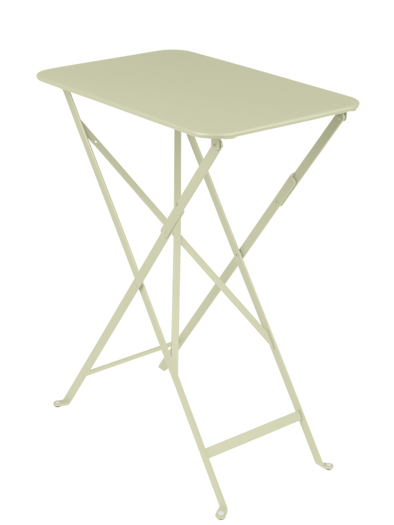 Fermob - Bistro Folding Table Rectagular 37x57 65 Willow Green