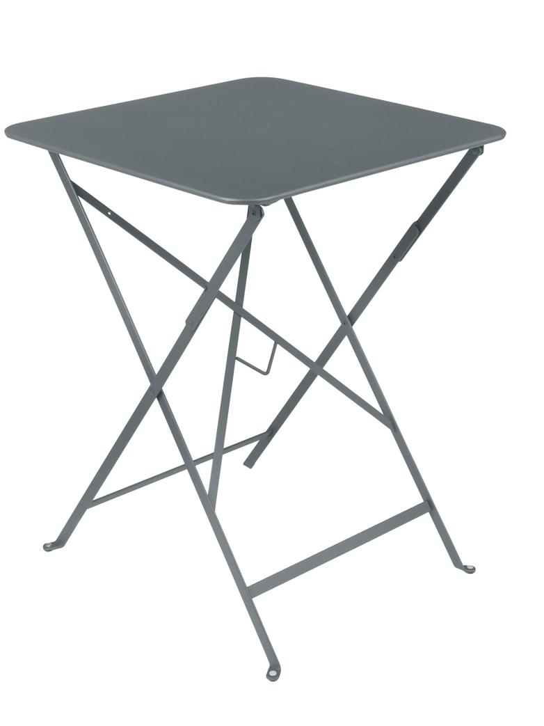 Bistro Folding Table 57x57 26 Storm grey