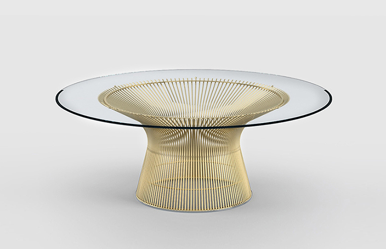 Platner Coffe Table 18 K Gold