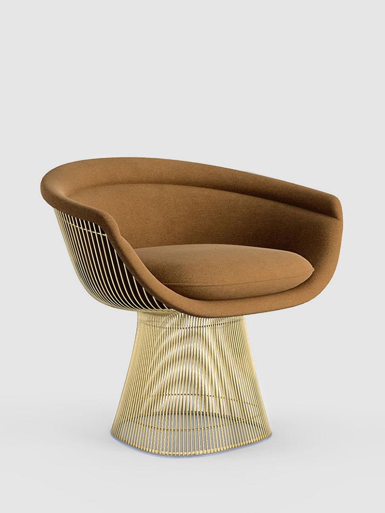 Platner Armchair 18 K Gold