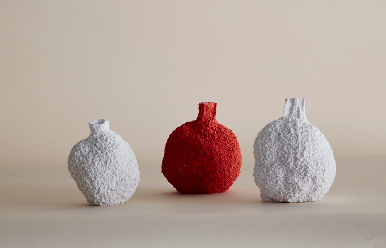 Petite Coral Vase