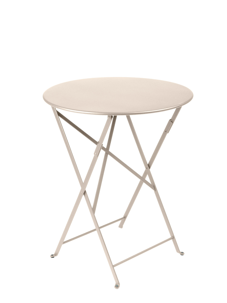 Bistro Folding Table Round 19 Linen