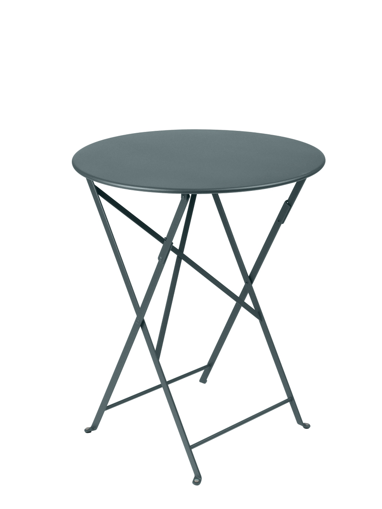 Bistro Folding Table Round 26 Storm grey