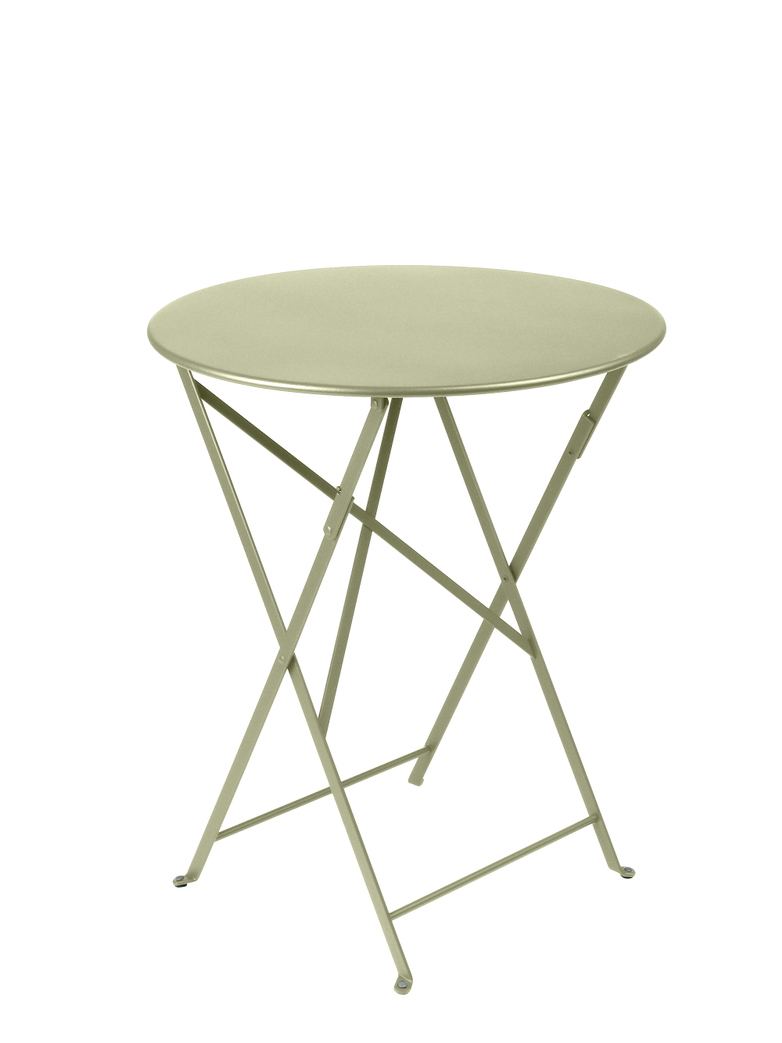 Bistro Folding Table Round 65 Willow Green