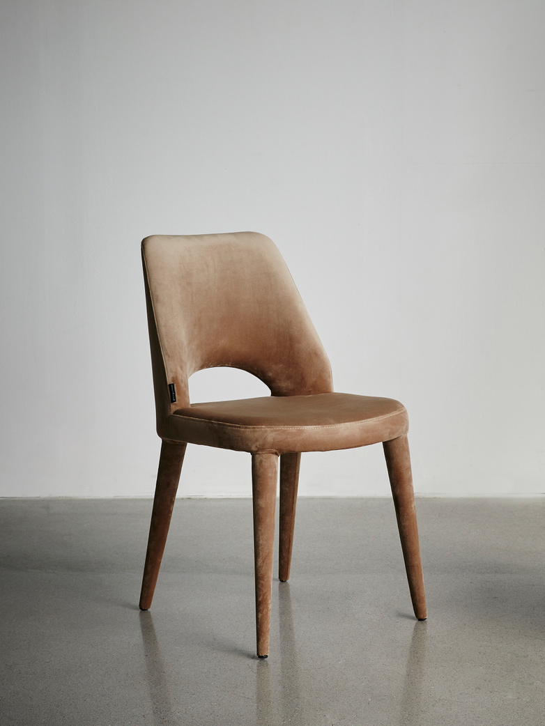 Chair Holy Velvet Beige