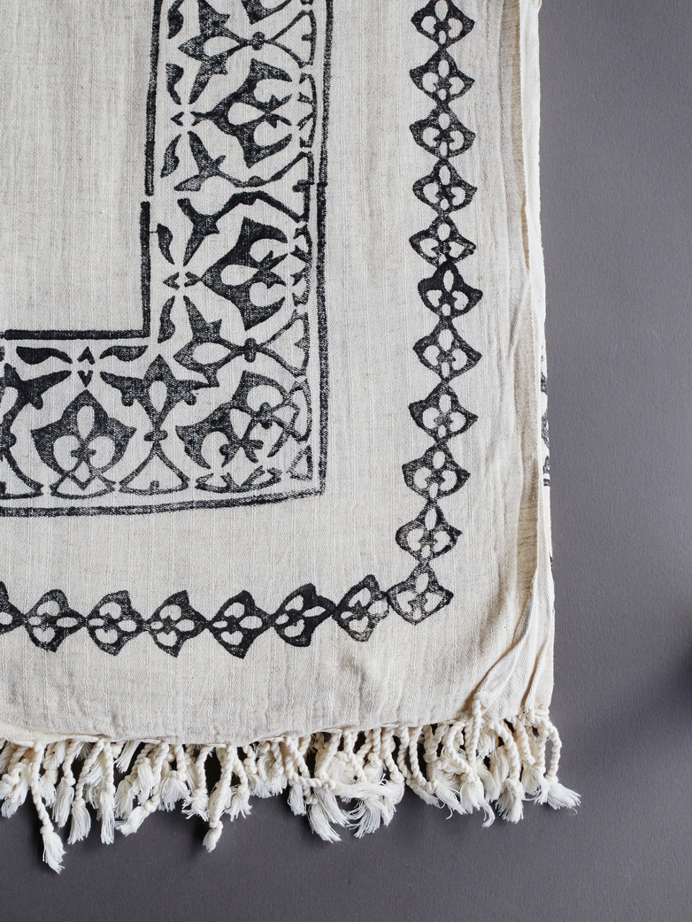 Hamam Beach Towel Linen & Cotton 150x220 cm